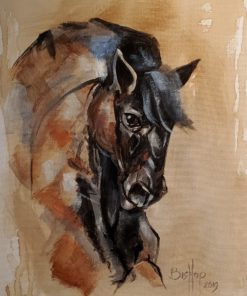 Bill_Bishop-Carousel_Horse-Acrylic_on_Canvas-11x14