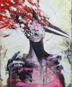 Gerard_Torbitt-Blown_Away-Acrylic_on_Canvas-16x20