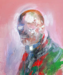 Gerard_Torbitt-Its_Fr_Prosciutto_Bless_Yourself-Acrylic_on_Canvas_Board-16x20
