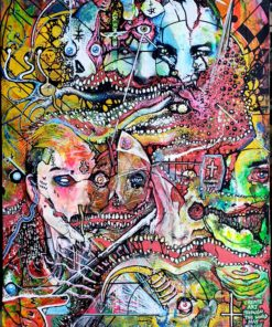 Gerard_Torbitt-Thats_Life_in_the_Big_City-Acrylic_on_Canvas_Board-18x24