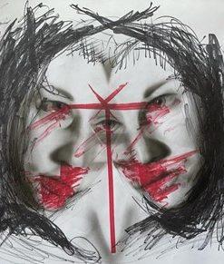 Ansu_Airas-Broken_Not_Meant_to_Break-Pencil_Marker_on_Paper-20x16.5
