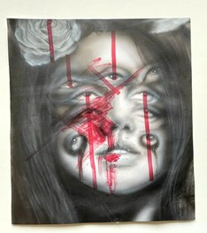 Ansu_Airas-See-Acrylic_Ink_Color_Pencil_on_Paper-12.8x11.7