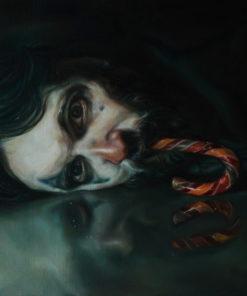 Clare_Trevens-Corporate_Clown-Oil_on_Linen