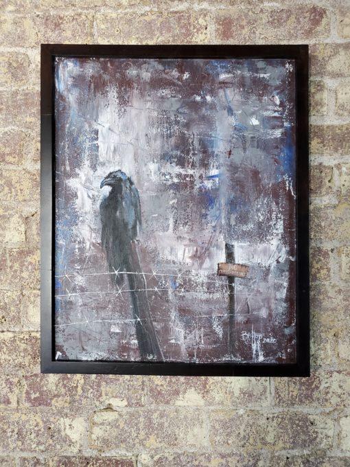 Bill_Bishop-No_Trespassing(1)-Acrylic_on_Canvas