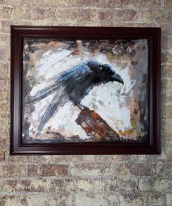 Bill_Bishop-Robust_Raven(1)-Acrylic_on_Canvas