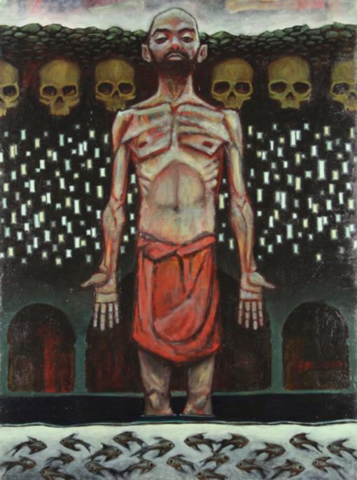 Gabriel_Karagianis-The_Feast-Oil_on_Canvas-58x42