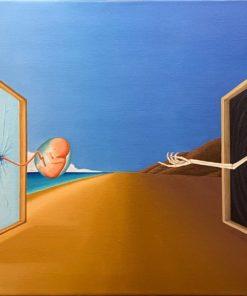 James_Hansen-Death_Beckons-Oil_on_Canvas-36x18